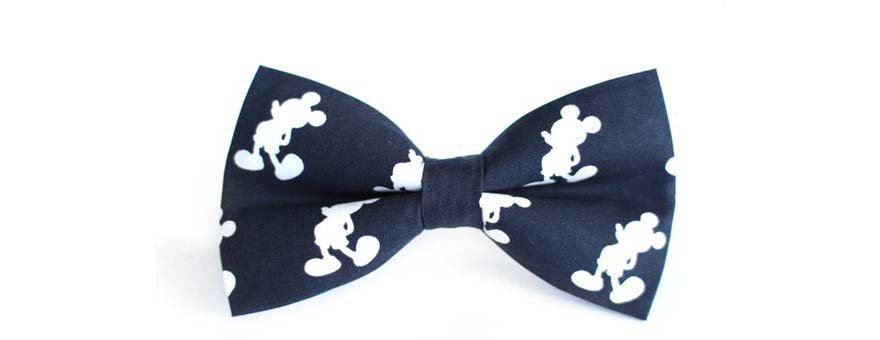 Mickey Mouse bow tie