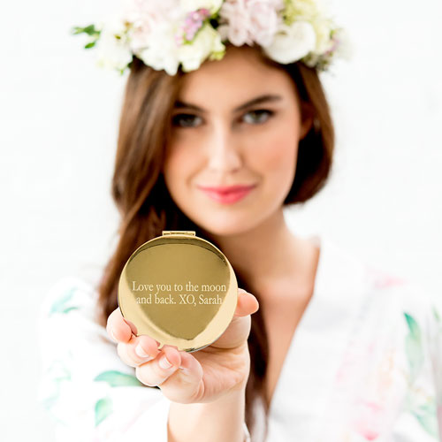 Designer compact mirror | Confetti.co.uk
