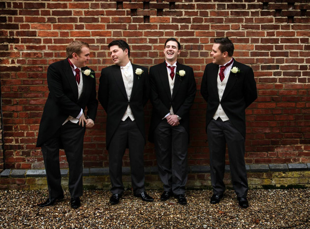 Groom and Ushers