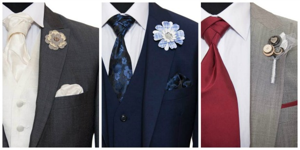 Ties for the groom by Hugh Harris | Confetti.co.uk
