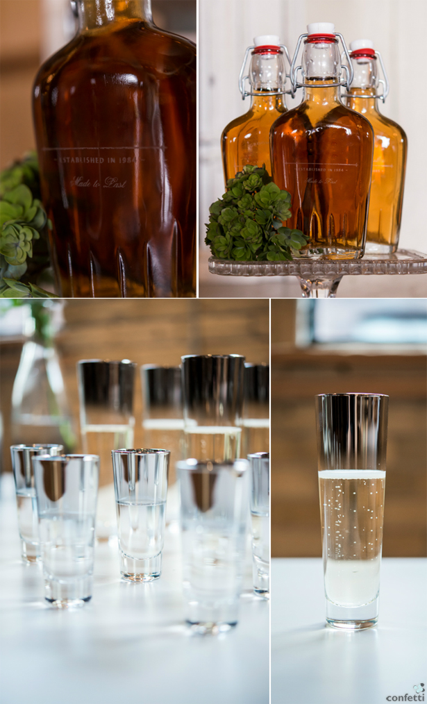 Flasks, Flutes, and Shot Glasses for Weddings | Confetti.co.uk