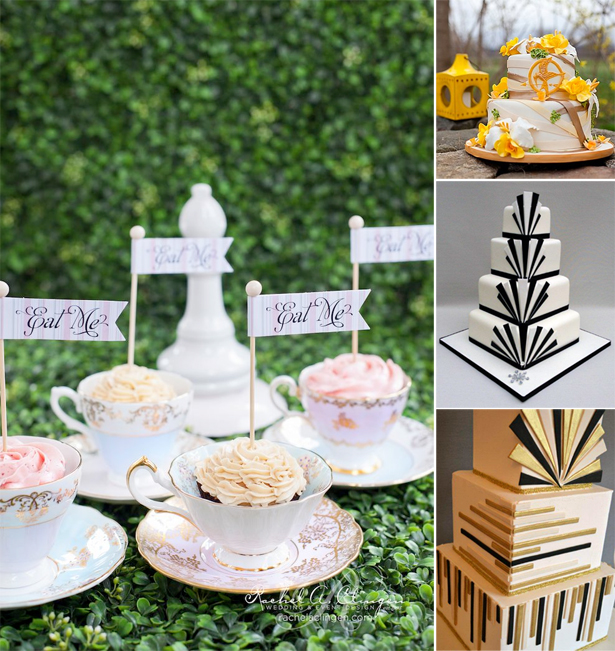 Themed Wedding Cakes | Confetti.co.uk