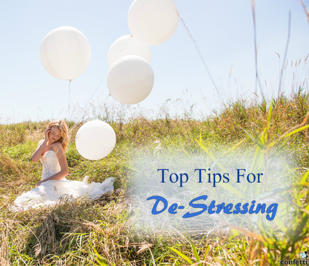 Top Tips For De-Stressing | Confetti.co.uk