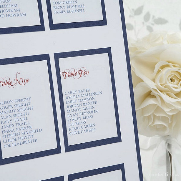Tricky Situations elegant border table planner