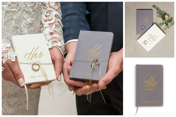 Vows pocket notebook journal | Confetti.co.uk