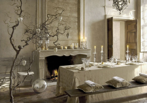 Magical christmas tables - Soggiorni country chic ...