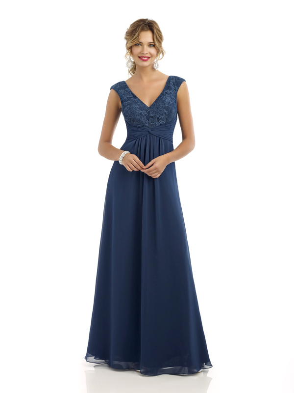 Beautiful blue bridesmaid dress from Alexia Designs