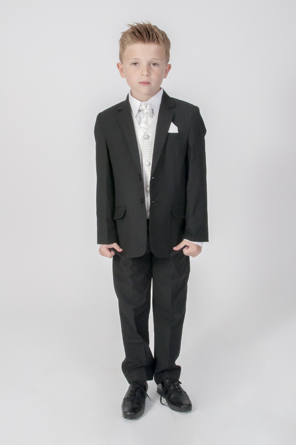 Boy in a wedding suit