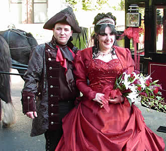 Debbie and Phils real life wedding