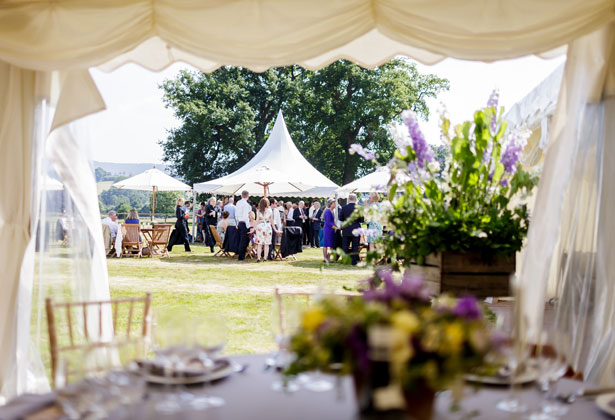 Anna and Jack's Real Wedding by Douglas Fry Marquee | Confetti.co.uk