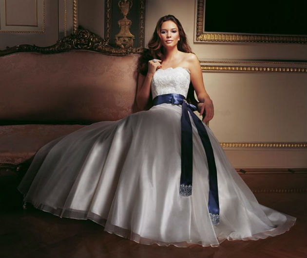Wedding Dress by Caroline Castigliano