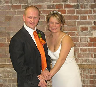 Gaynor and Niges real life wedding