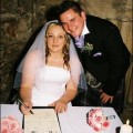 Mandy and Willies real life wedding