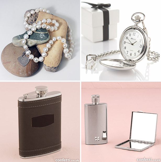 Wedding gifts for him and for her