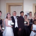 Louise and Simons real life wedding