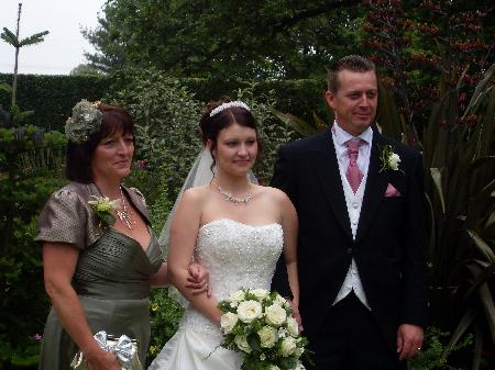 Laura and James real wedding story