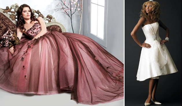 Alternative Wedding Dress S Manchester : Images courtesy of kosibah left veromia right