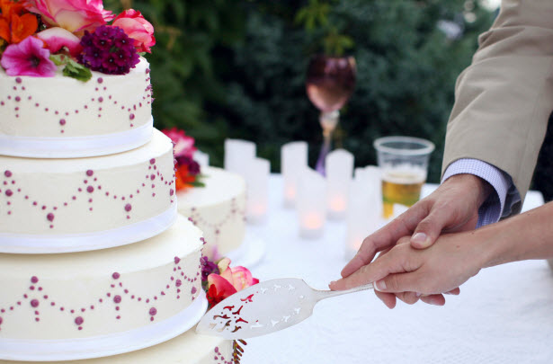Cutting Of The Cake Wedding Meaning