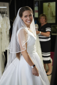 Buying wedding dresses at the National Wedding Show 2015
