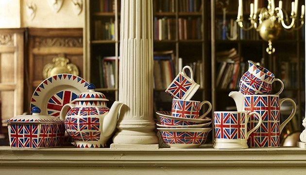 Teacups Teapot British