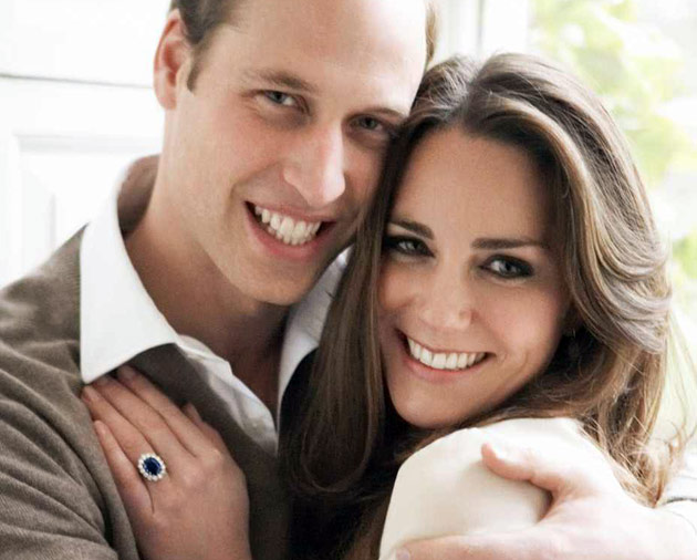 Kate & William Engagement Photo