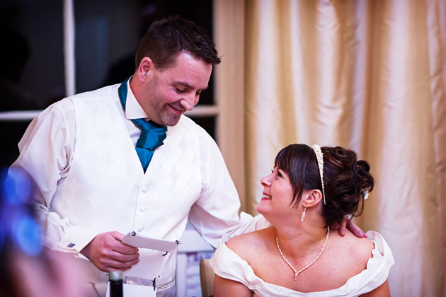 Romantic Moments Speech Template & Material for Weddings at
