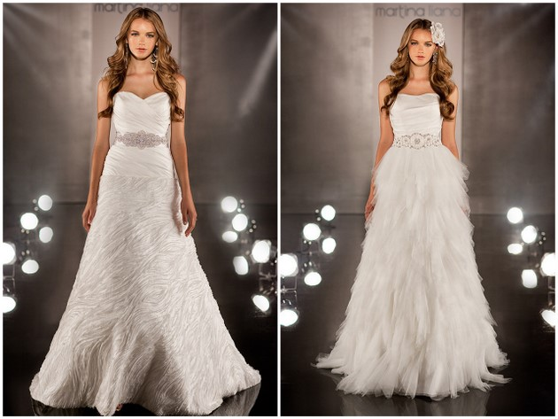 Martina Liana Wedding Gowns 2012