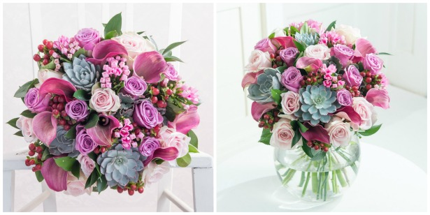 Flowers in Wild Romance by Drake Algar Florists | Confetti.co.uk