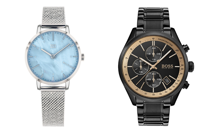 Tommy Hilfiger and BOSS watch