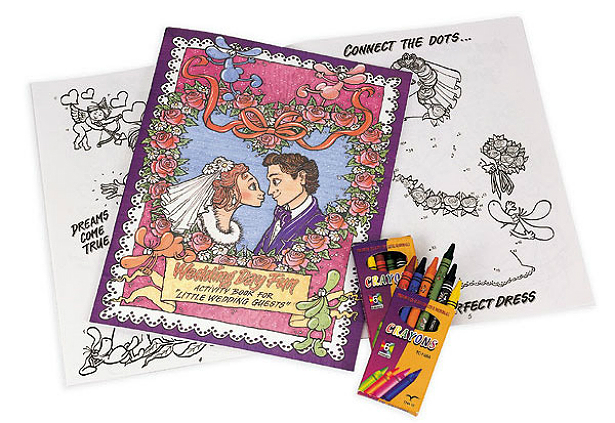 Wedding activity book | Confetti.co.uk