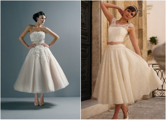 10 Beautiful Ivory/Pink Wedding Dresses For Spring/Summer
