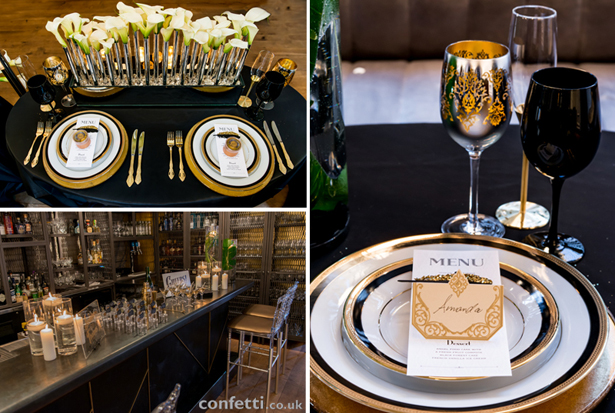 Art Deco Table Setting