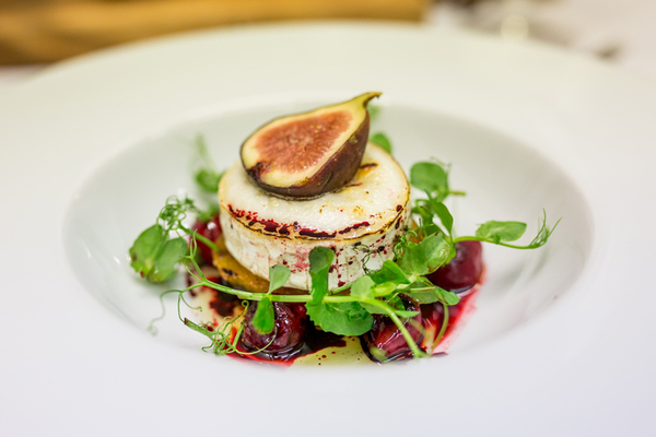 Stunning vegetarian options from Beales Gourmet
