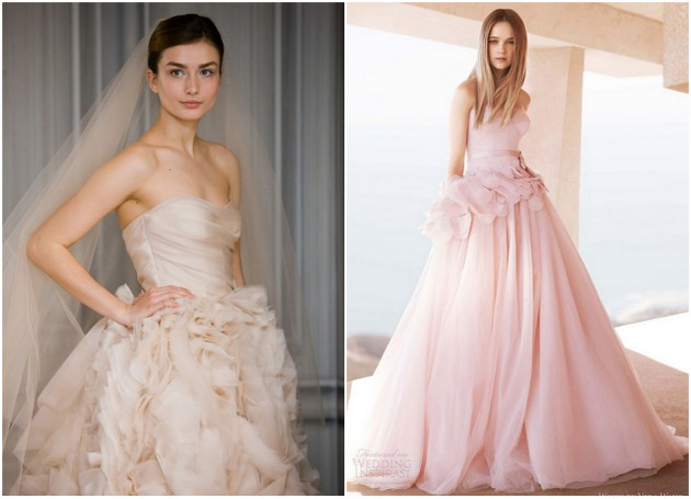 Blush Or Ivory Wedding Dresses : Beautiful ivory and blush wedding dresses for spring summer