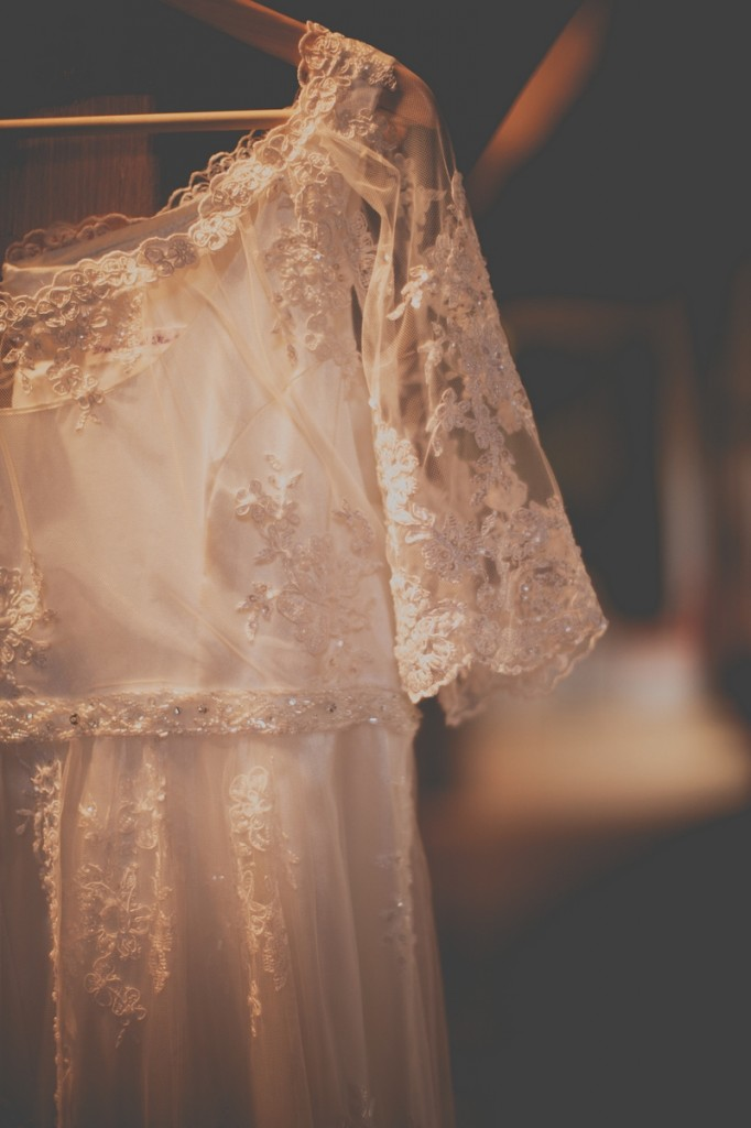 Empire Style Wedding Gown