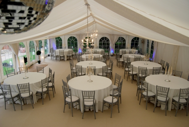 Black Cherry Events Classic Marquee
