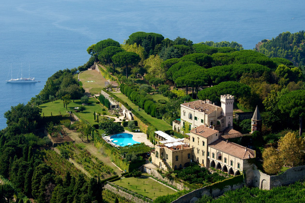 Villa Cimbrone Italian Wedding Venue