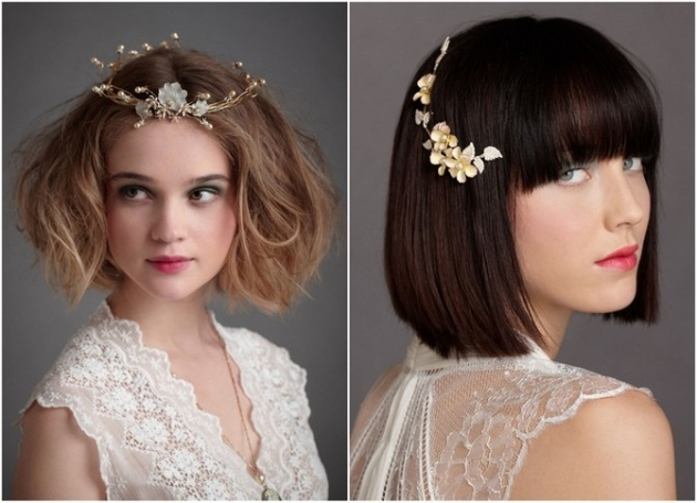 Hair Styles For Short Hair Brides: Short Hair Wedding Ideas From Expert Pam Wrigley