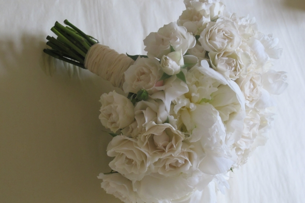 Flowers by Eve pink peonies spray roses bouquet