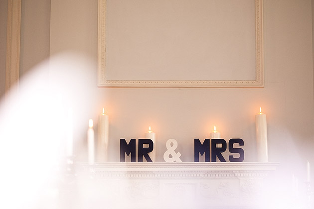 mr & mrs sign letters