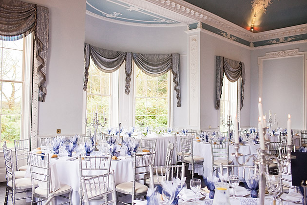 somerford hall wedding reception room