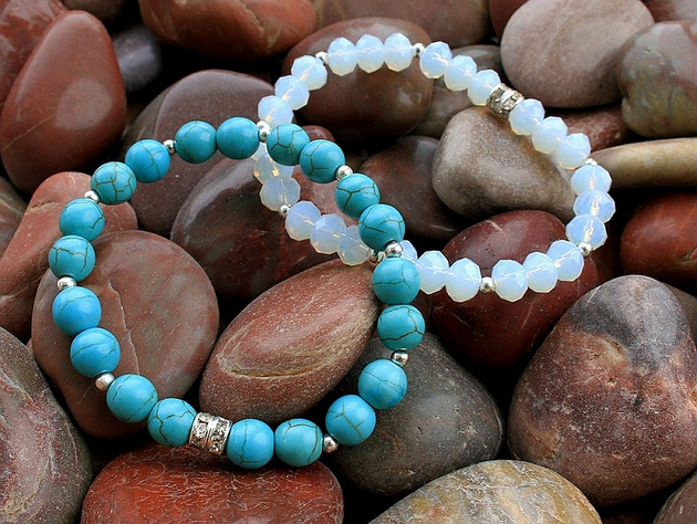 Disgraceful Grace Boutique Turquoise Bridesmaid Bracelet