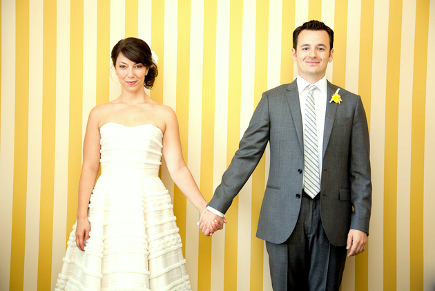 yellow-stripes-wedding