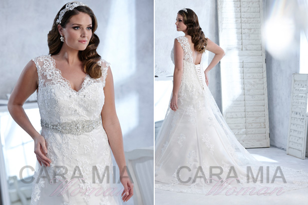 Flattering Plus Size Wedding Dresses From Eternity Bridal