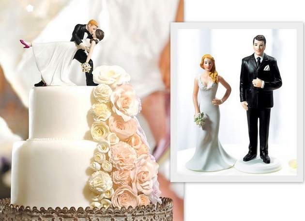 Wedding Star Cake Toppers