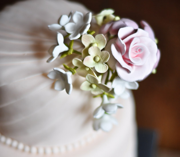 Little Cakes Flower Cake Topper