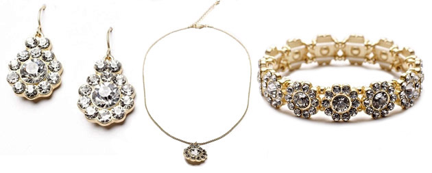 Emily Bridesmaid Set by Darling Jewellery
