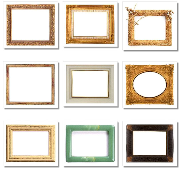 Wedding DIY Photo Frames