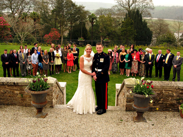 Pentillie Castle Real Wedding
