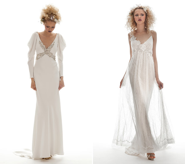 20s Inspired Bridal Gowns by Elizabeth Fillmore